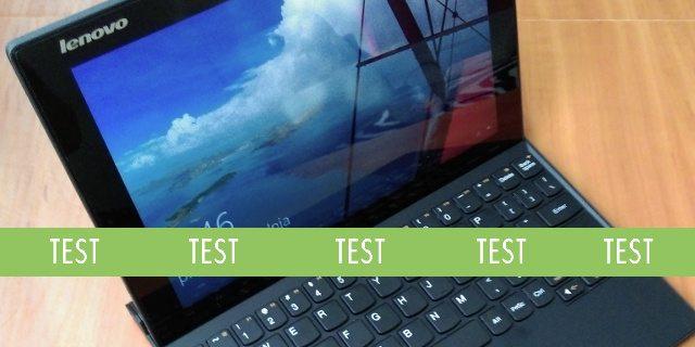 Lenovo Miix 3 - test