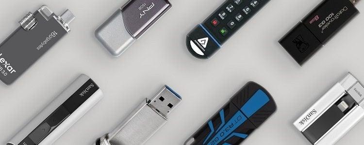 Pamięć USB zagrożenia Slide