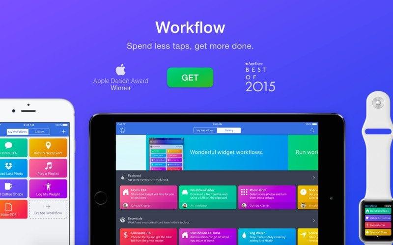 Apple kupuje Workflow
