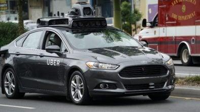 Autonomiczne auto Uber