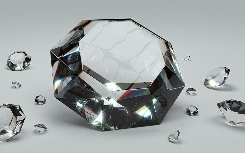 Szkło diamentowe
