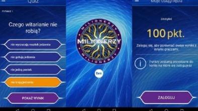 Milionerzy aplikacja