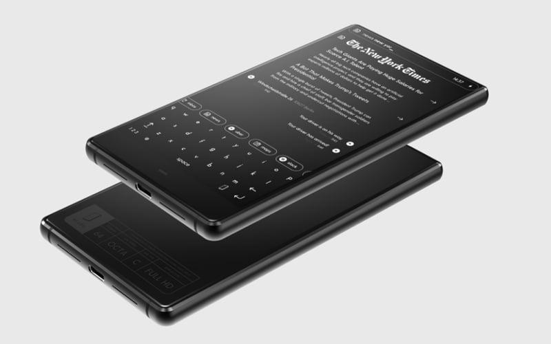 Monochromatyczny smartfon BllockZero18