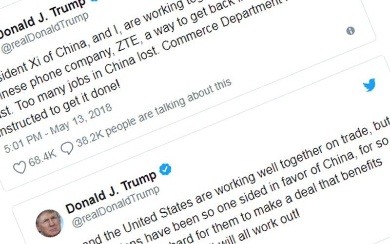 Trump i ZTE