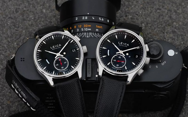 Leica wypuszcza zegarki Leica L1 Leica L2
