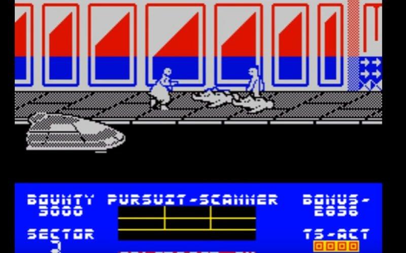 Blade Runner ZX Spectrum