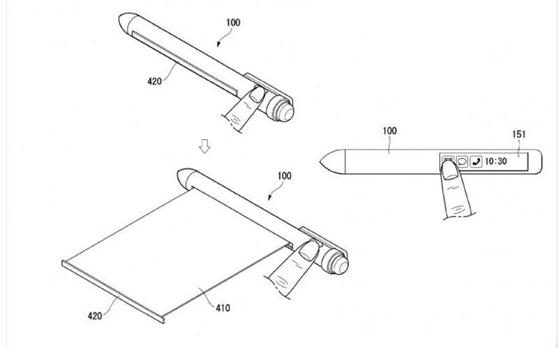 długopis jako smartfon lg