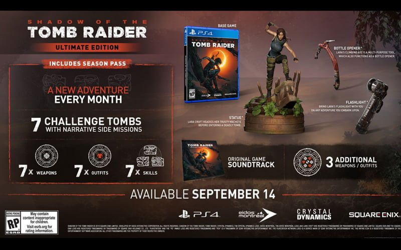 Ultimate Edition Shadow of the Tomb Raider