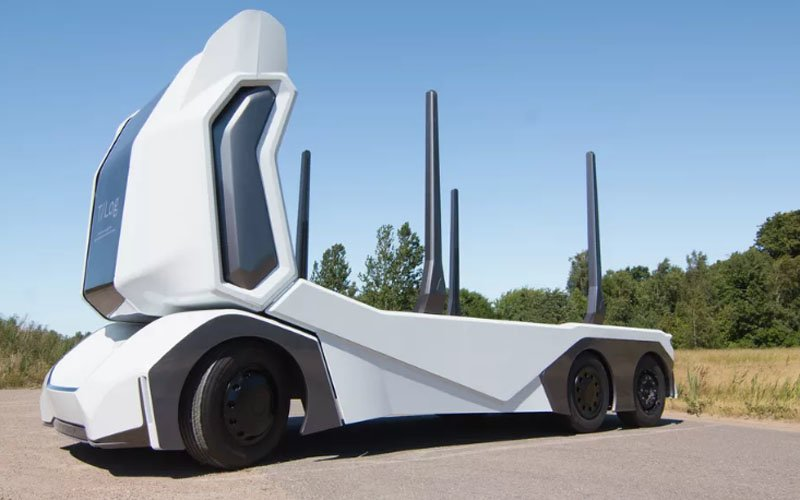 autonomiczna ciężarówka t-log