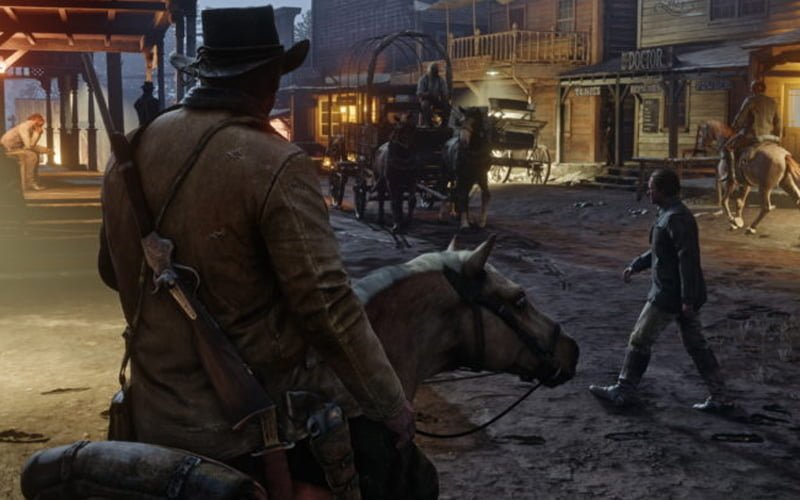 Otwarty świat Red Dead Redemption 2