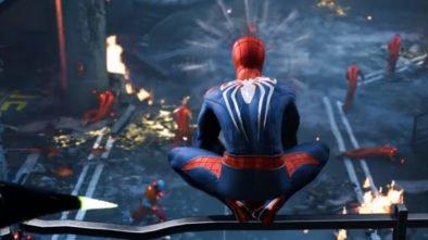 granie w Spider-Man