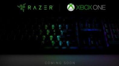 Klawiatura w Xbox One