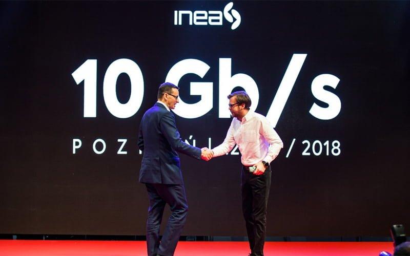 10 Gbps od INEA