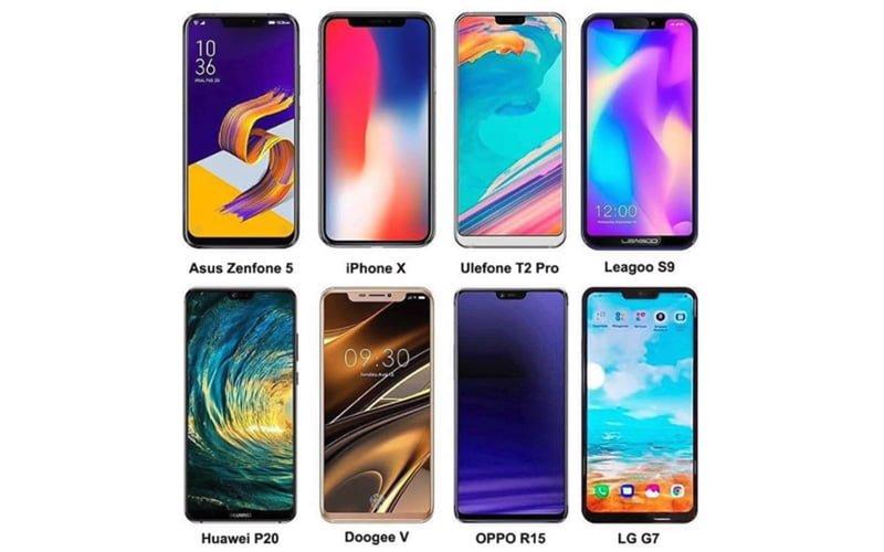 Smartfony wyglądają tak samo