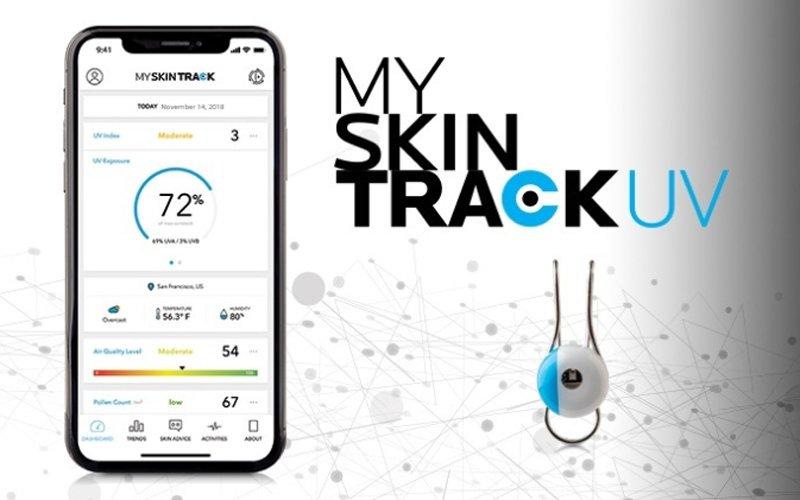 My skin track UV