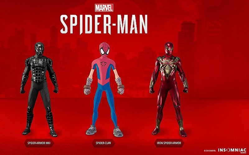 New costiumes Spider-Man