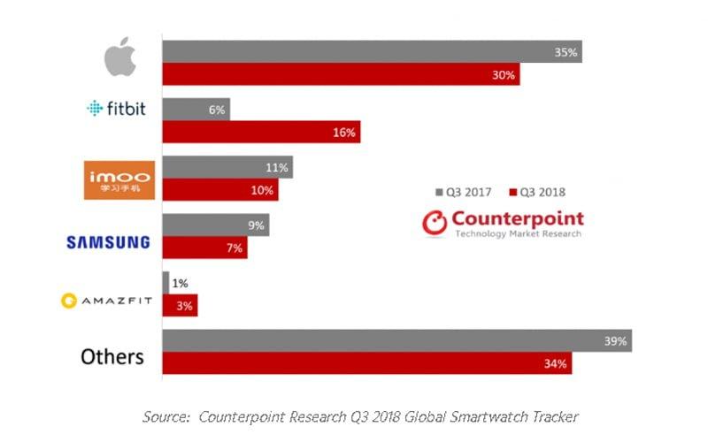 Rynek smartwatch wyniki