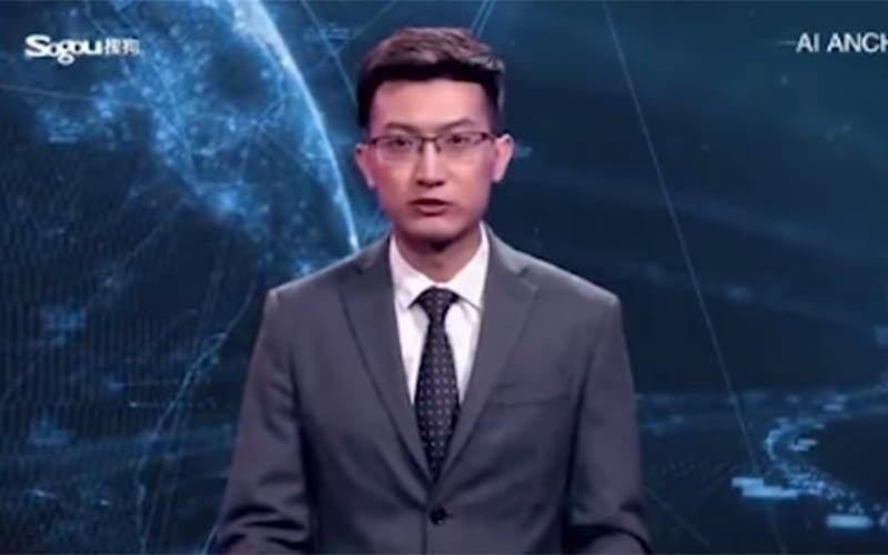 Wygenerowany komputerowo prezenter