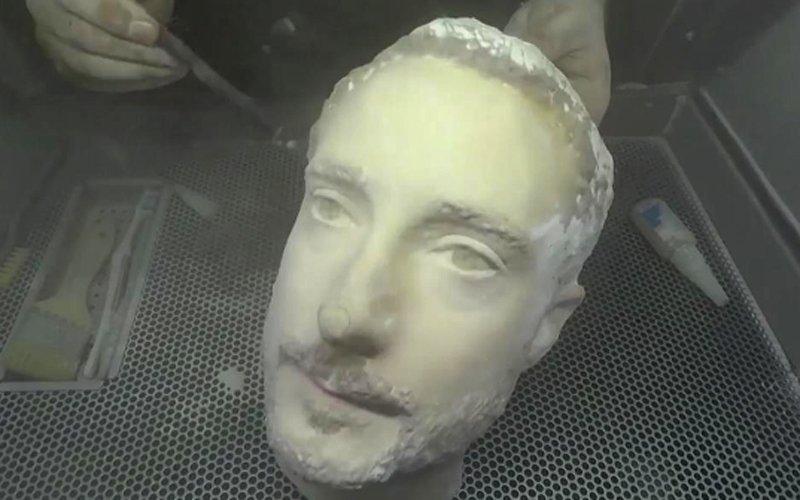 Replika twarzy w 3D