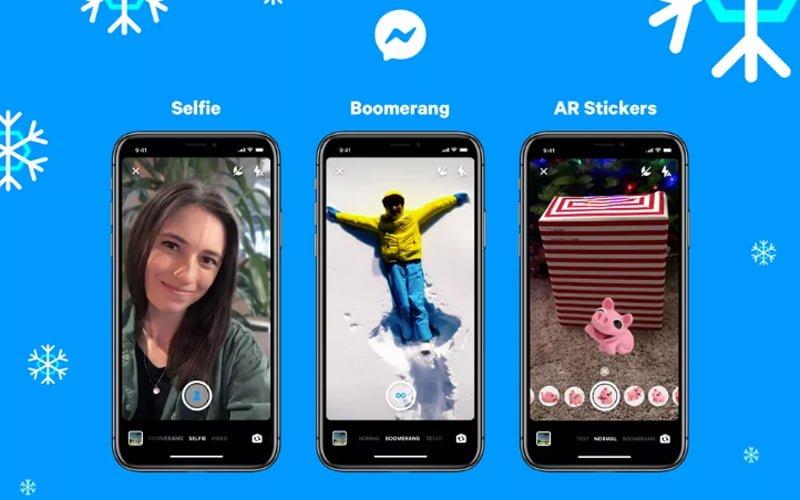 Messenger wygląda jak Instagram