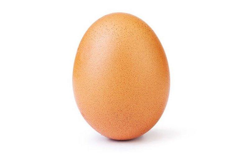 Jajko na Instagramie