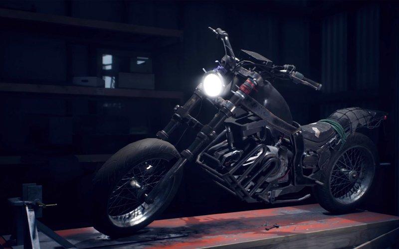 Motocykl w Days Gone