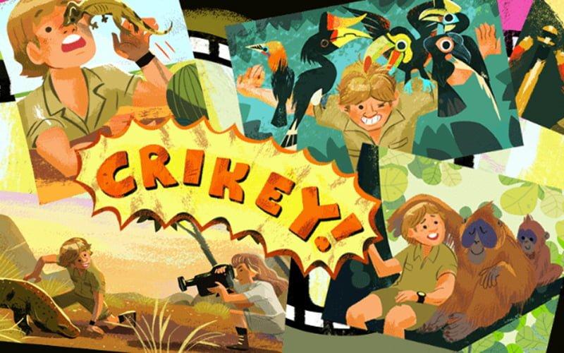 Google Doodle dla Stevena Irvina