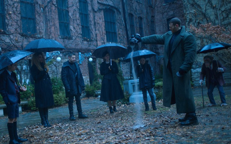 premiery Netflix na weekend The Umbrella Academy