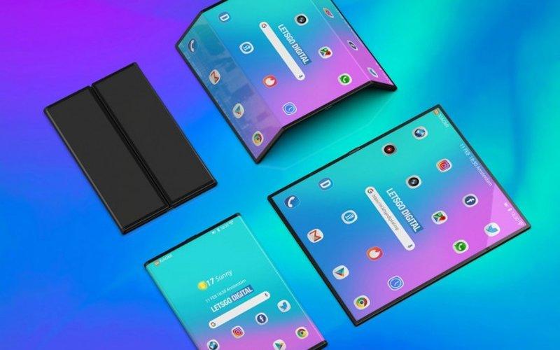 render składanego Xiaomi