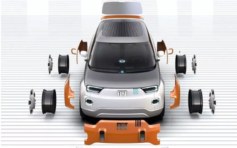 modularny samochód Fiat