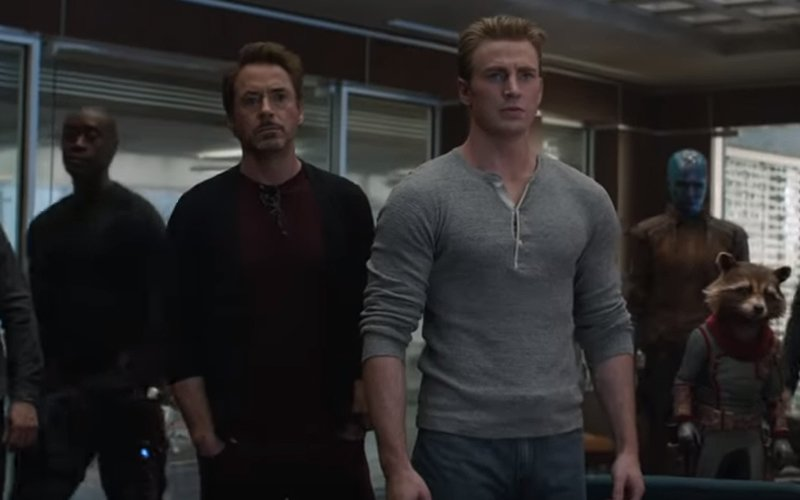 Nowe materiały z Avengers Endgame