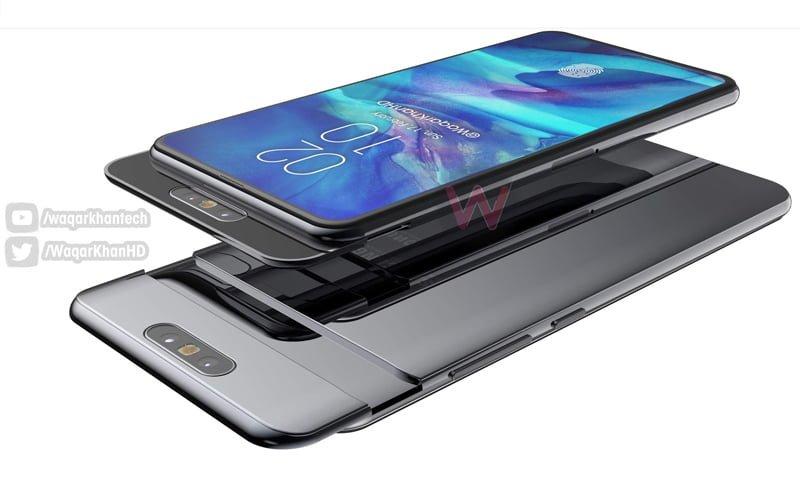 Slider w Samsung Galaxy A90, fot. Waqar Khan