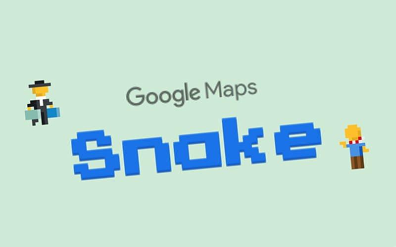 Snake w Google Maps