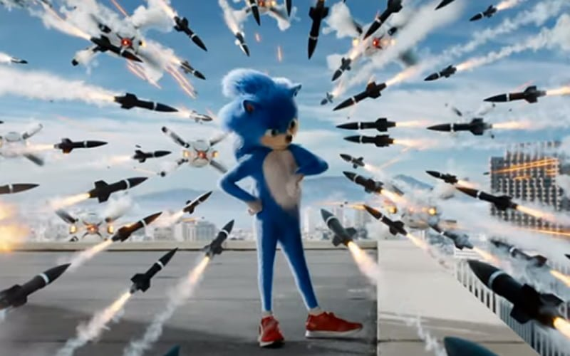 Zwiastun Sonic The Hedgehog