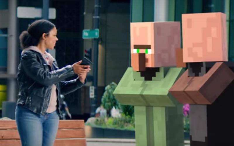 Zapowiedź Minecraft AR