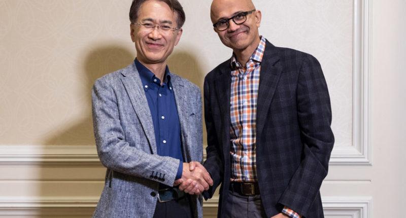 Współpraca Sony i Microsoft
