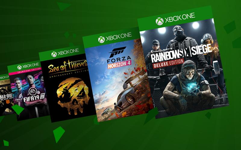 Wyprzedaż gier na Xbox