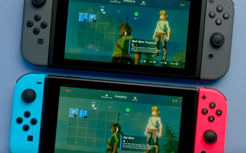 Nowe Nintendo Switch
