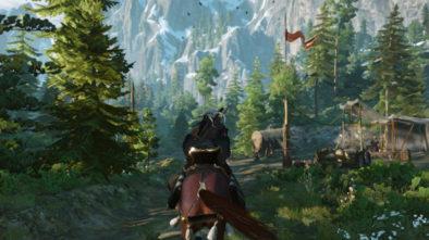 Gameplay Wiedźmina 3 na Switch