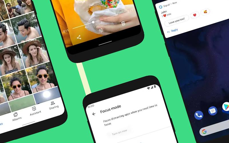 Android 10 na Samsungu