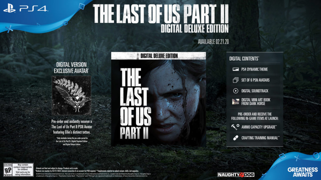 The Last of Us 2 Digital Deluxe Edition