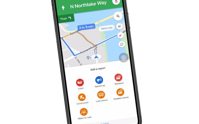 Nawigacja w Google Maps