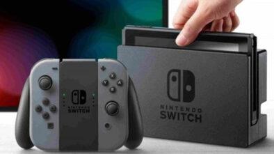 Sprzedaż Nintendo Switch