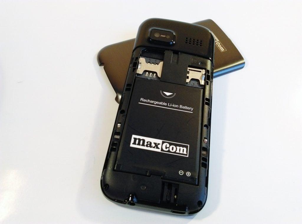 MaxCom MM238 - bateria