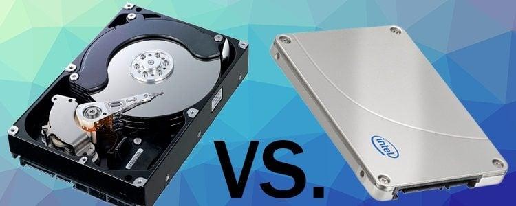 HDD vs SSD Slide