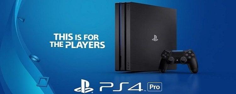 PS 4 Pro Slide