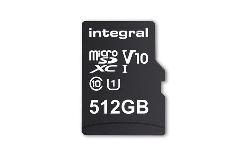 microSD 512 GB