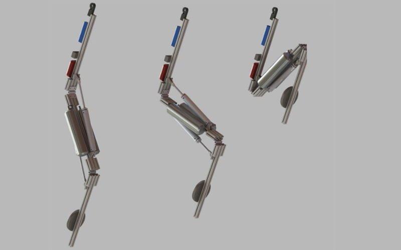 Stickman robot Disney