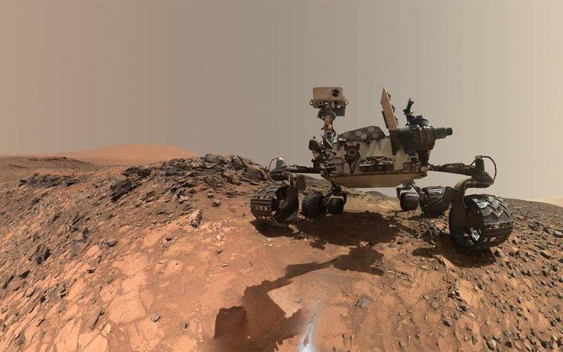Związki organiczne na Marsie