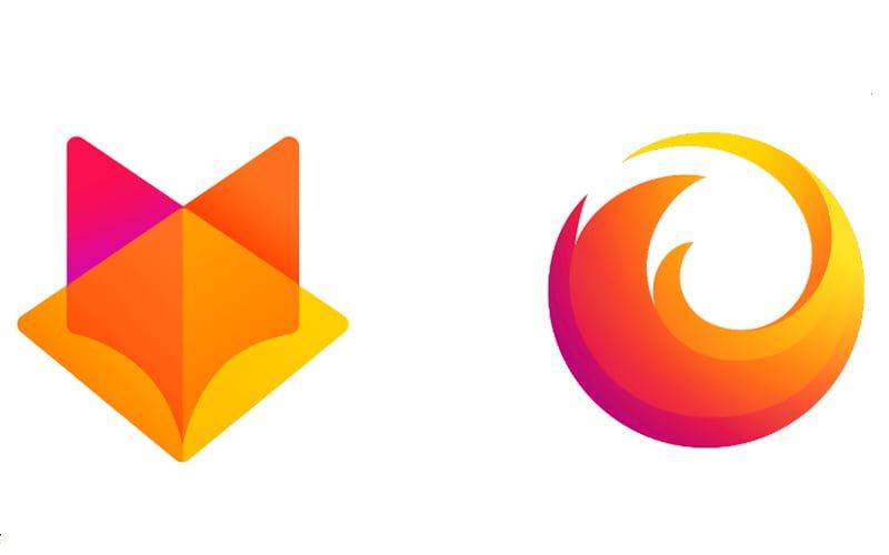 Firefox zmienia logo